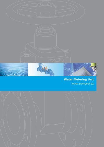 Water Metering Unit www.comeval.es