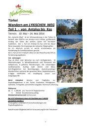 Ausschreibung 2014 - Naturfreunde Oberösterreich