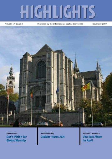Read Online Now - International Baptist Convention
