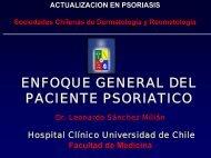 Enfoque general del paciente psoriático - Sociedad Chilena de ...