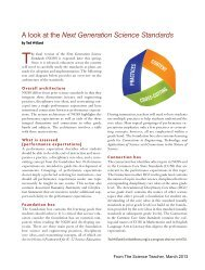 A look at the Next Generation Science Standards