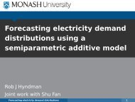 Forecasting electricity demand distributions using a ... - GARP