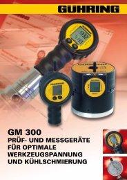 GM 300 - Gühring oHG