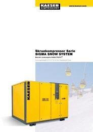 Skruekompressor Serie SIGMA SNOW SYSTEM - KAESER ...