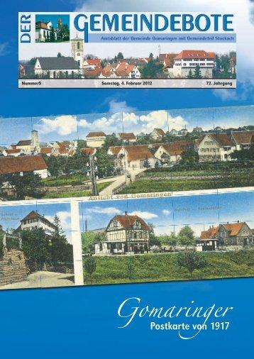 Gomaringen 04.02.12.pdf - Gomaringer Verlag