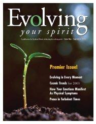 September, 2003 - Evolving Your Spirit