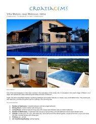Villa Meloni, near Motovun, Istria - CroatiaGems