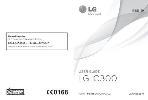 LG-C300 - Claro