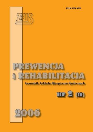 Prewencja i rehabilitacja nr 2/2006