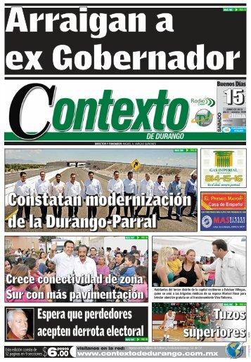 15/06/2013 - Contexto de Durango