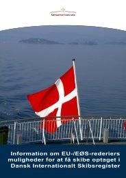 Information om EU-/EØS-rederiers muligheder for ... - Søfartsstyrelsen