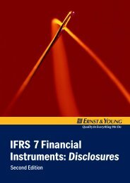 IFRS 7 Financial Instruments: Disclosures – Second Edition