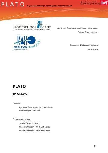 Eindrapport Afgelopen vergaderingen 08/05/2012 - Project ...