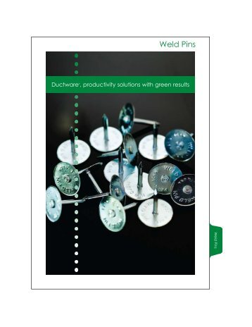 Weld Pins - Ductware