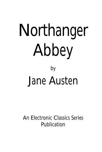 Jane Austen - Pennsylvania State University