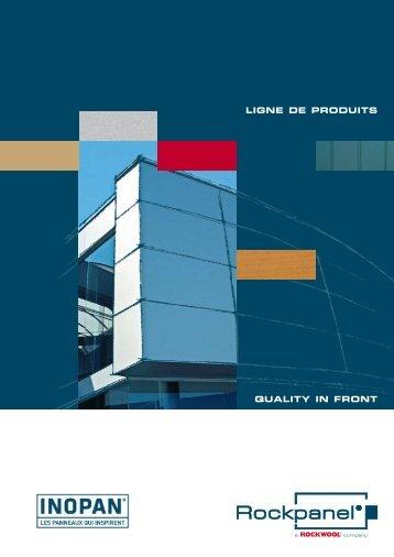 Ligne de produits(pdf ) - Inopan