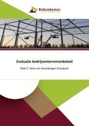 Nota van Bevindingen Overijssel - Gemeente Nijmegen