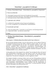 Deutschland - Geographisches Institut Uni Heidelberg