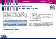 newsletter-may-02-12 - Mountain Creek State High School