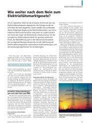 Wie weiter nach dem Nein zum ... - Home - Ernst & Young  - Schweiz