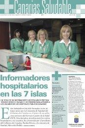 Informadores hospitalarios en las 7 islas - Gobierno de Canarias