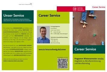 Wintersemester 2012/13 - TU Braunschweig CareerService ...