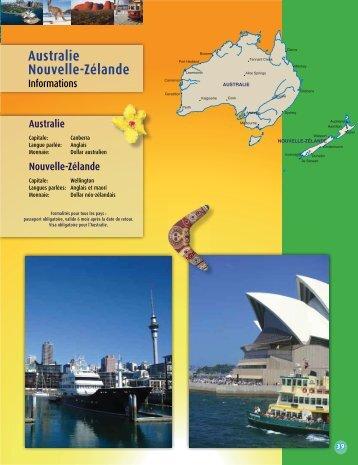 Australie Nouvelle-Zélande - Voyages Cassis
