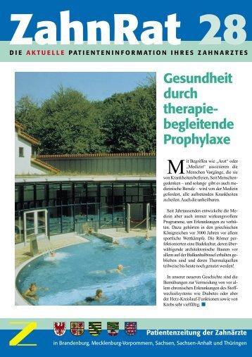 ZahnRat 28 - Zahnärzte in Thüringen