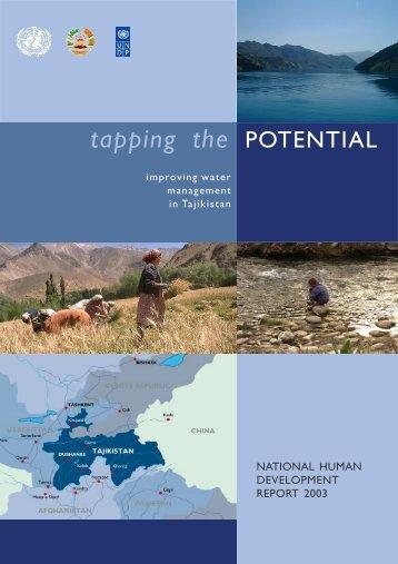improving water management in Tajikistan - Unesco