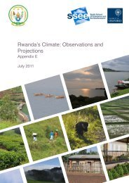 Rwanda's Climate: Observation and Projections - Smith School of ...