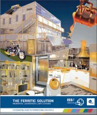 The Ferritic Solution - Euro Inox