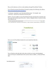 You will need to log into PowerSchool Teacher by