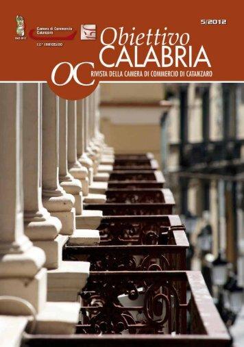 numero 5 anno 2012 - CCIAA di Catanzaro - Camera di Commercio