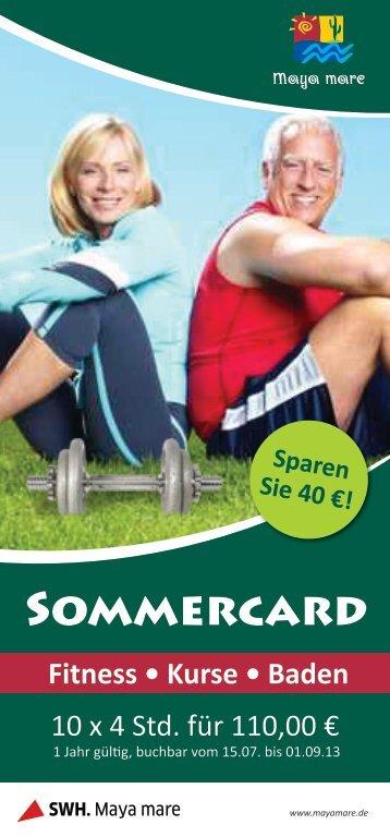 Sommercard - Maya Mare