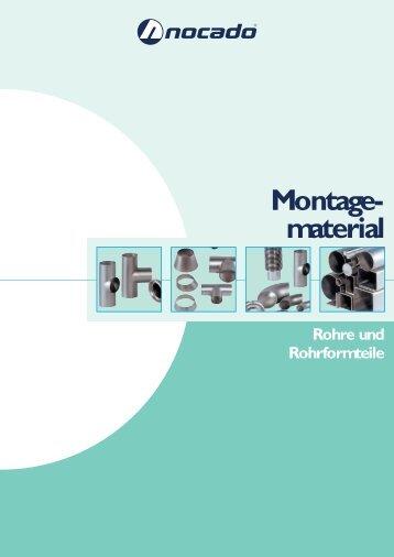 Rohre und Rohrformteile - Nocado-Armaturenfabrik GmbH & Co. KG
