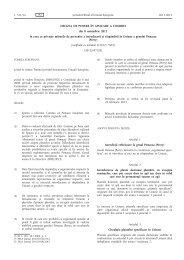 Decizia de punere în aplicare a Comisiei din 8 noiembrie ... - MADR