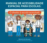 manual de acessibilidade espacial para escolas - Ministério Público ...