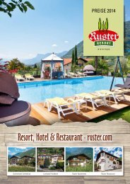 PDF > Ruster Resort Preisliste 2014