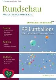 Oktober 2013 - DKV-Residenz am Tibusplatz
