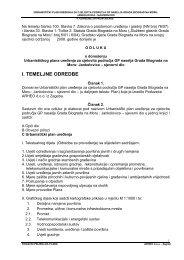 UPU Janlolovica - sjeverni dio - ODREDBE - Grad Biograd na Moru