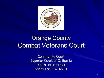 VETERANS COURTof ORANGE COUNTY