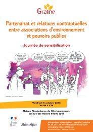 Partenariat et relations contractuelles entre ... - Rhone Solidaires