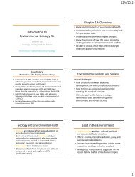 Chapter 19 Lecture PowerPoint Handout - Spokane Falls ...