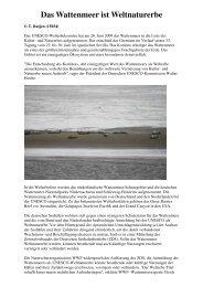 Das Wattenmeer ist Weltnaturerbe - Vogelfreundekaltenkirchen.de