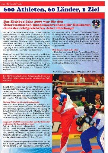 aktuelle Ausgabe 2/2010 - ÖBFK