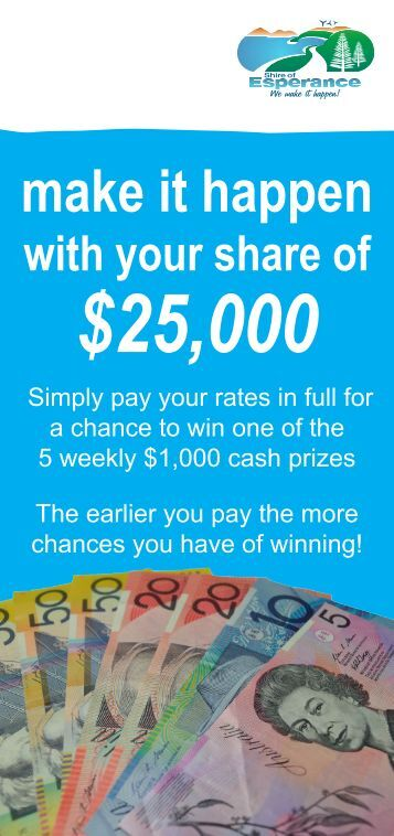 how you can make it happen - Shire of Esperance