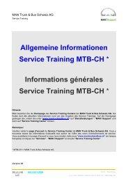 Service Training Center MNS - MAN Truck & Bus Schweiz AG