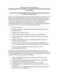 Distrito Escolar 6 de Greeley-Evans Declaración ... - Greeley Schools
