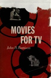 Movies for TV - Early Television Foundation