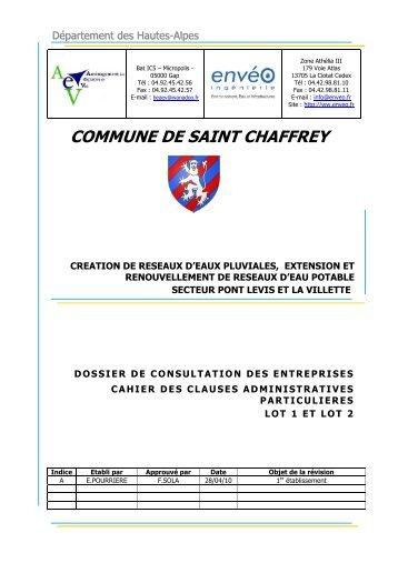 CCAP EA 10 03 - A - Saint-Chaffrey
